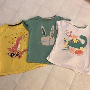 Little girl t-shirts play-wear